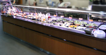 Image of prepared foods service counter