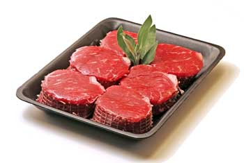 Image of fresh meat package